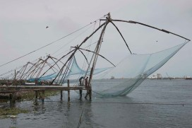 Kochi, Cochin, fishing nets, Indian Cooking, Food Travel, Food Tourism, Indian Food, Culinary Tours, Faces Places and Plates Blog